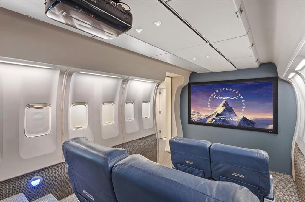 Airplane Home Theater