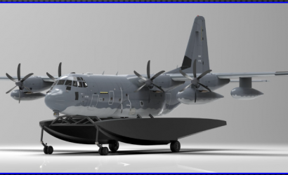 You Won't Believe How Fast A C-130 On Floats Might Happen!