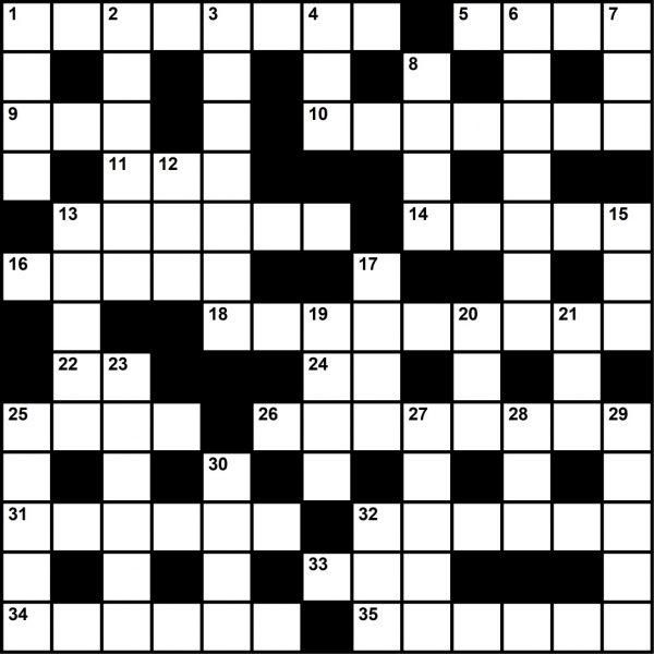 October 2021 Crossword