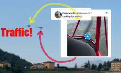 2 Videos! Near Mid-air Collision! Watch Until The End!