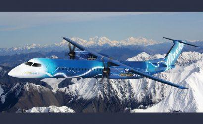 Alaska Air Works Toward Hydrogen/Electric de Havilland Q400 Fleet