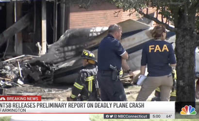 Citation That Crashed In Connecticut Took Off With Parking Brake Engaged