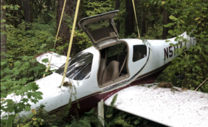 Pilot Records Post-Crash Video Before First Responders Show!