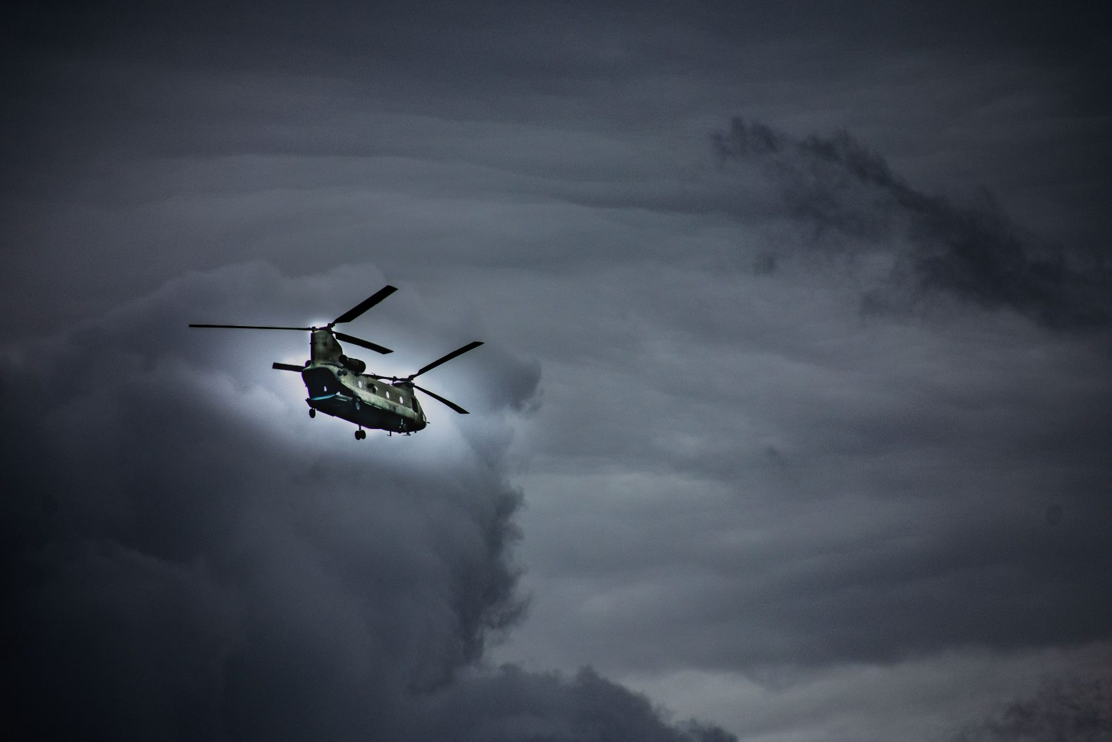 Stormy Monday Helicopter