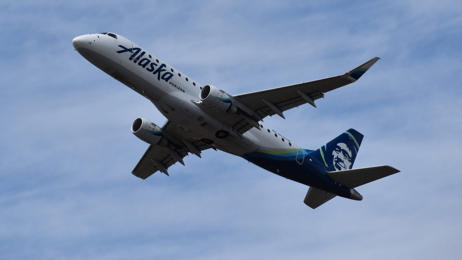 Alaska Horizon Airliner