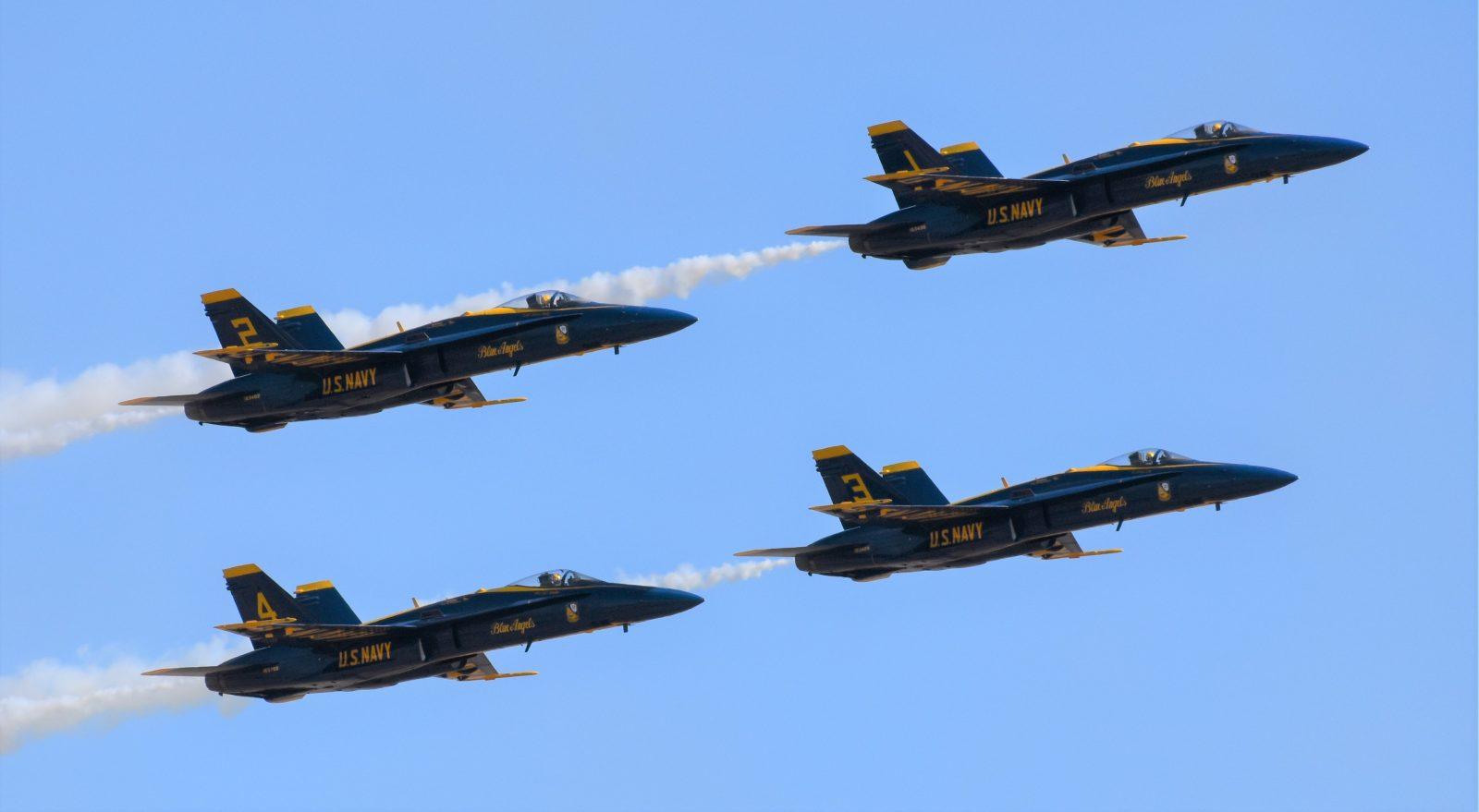 F18 Hornets
