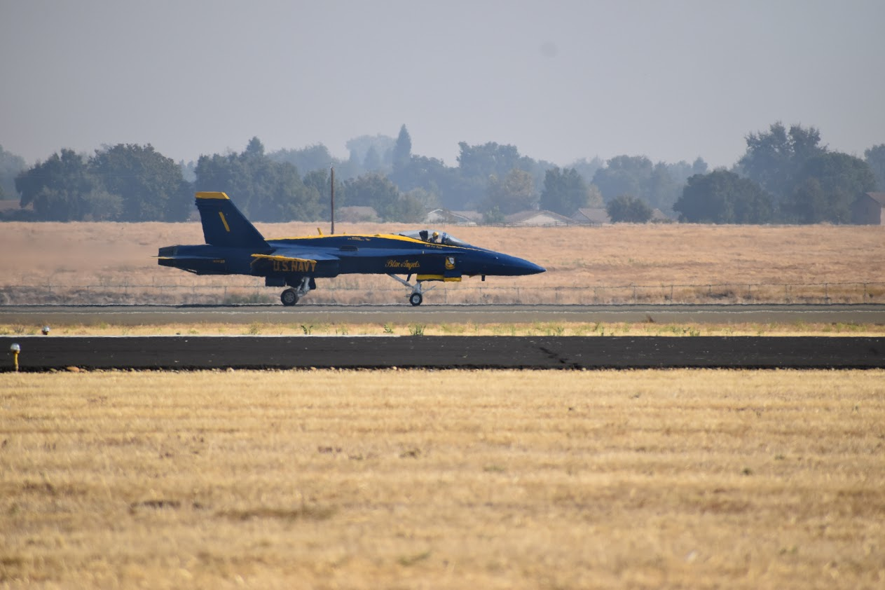 F18 Landing