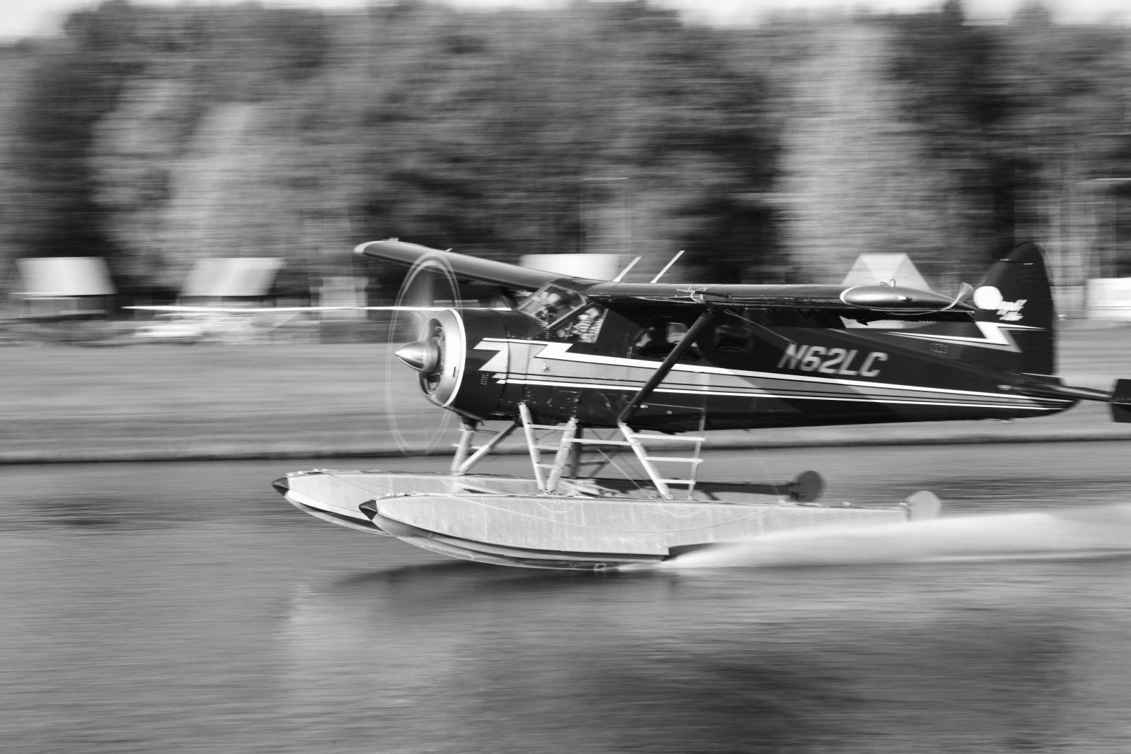 Lake Hood landing