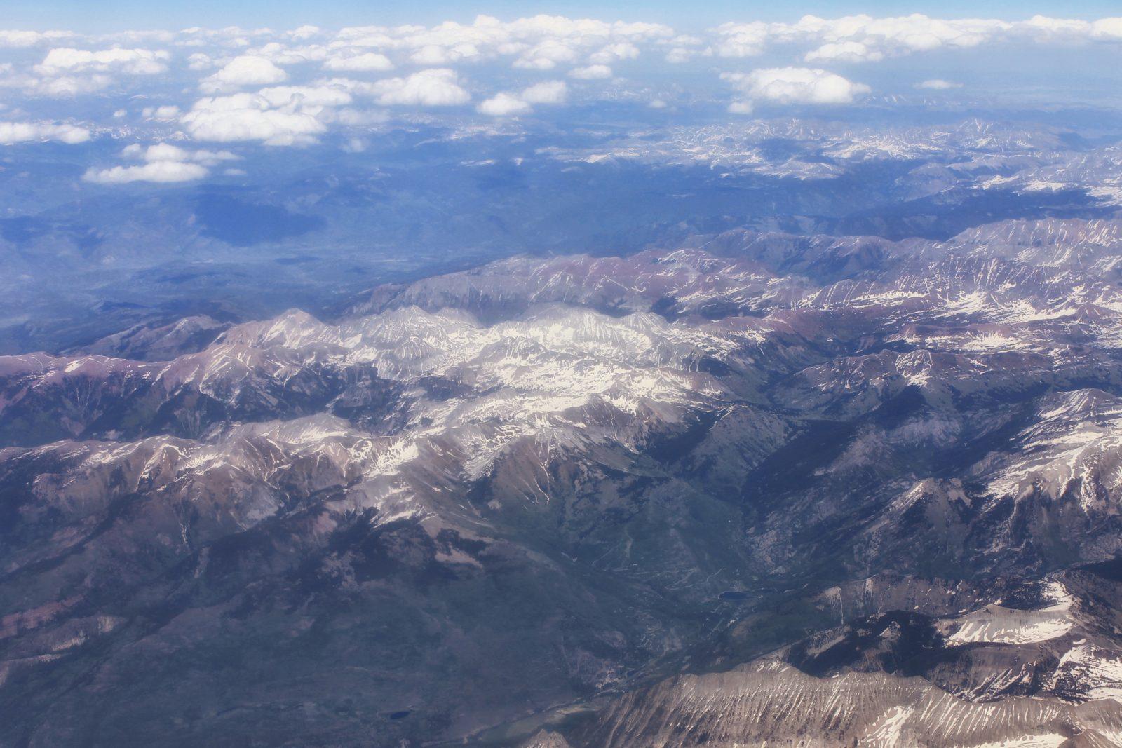 Mountains  near Oregon