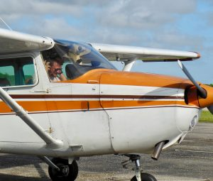 Arriving from first solo
