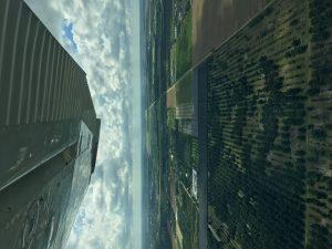 Fields under the wings