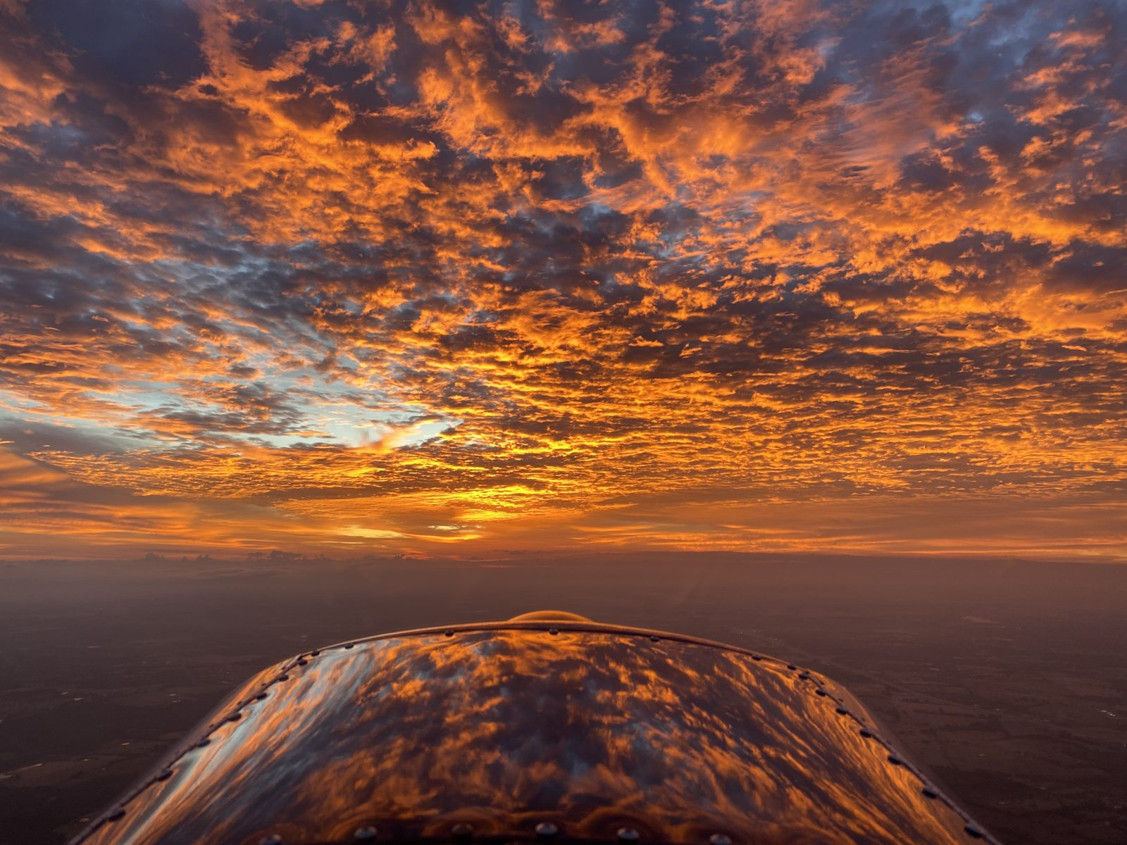 Fiery Sunrise Over Texas