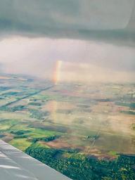 Rainstorms bring Rainbows