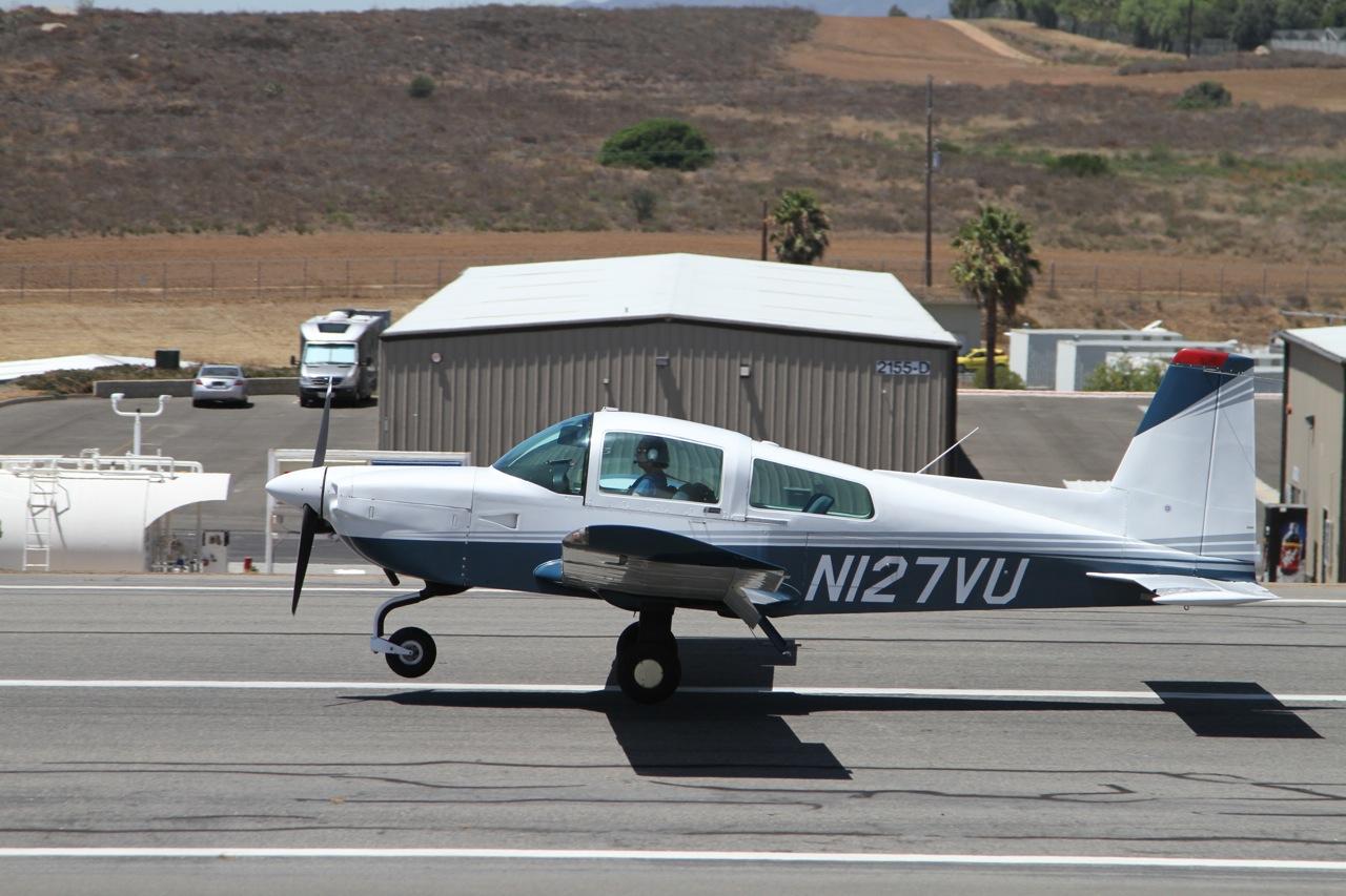 Landing at Fallbrook