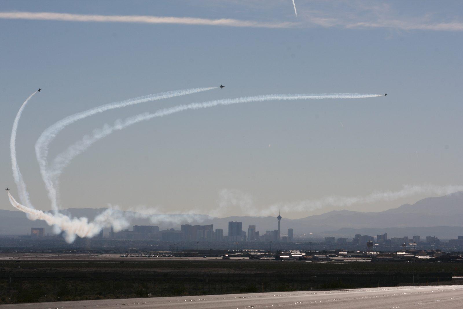 Thunderbirds at Nellis!