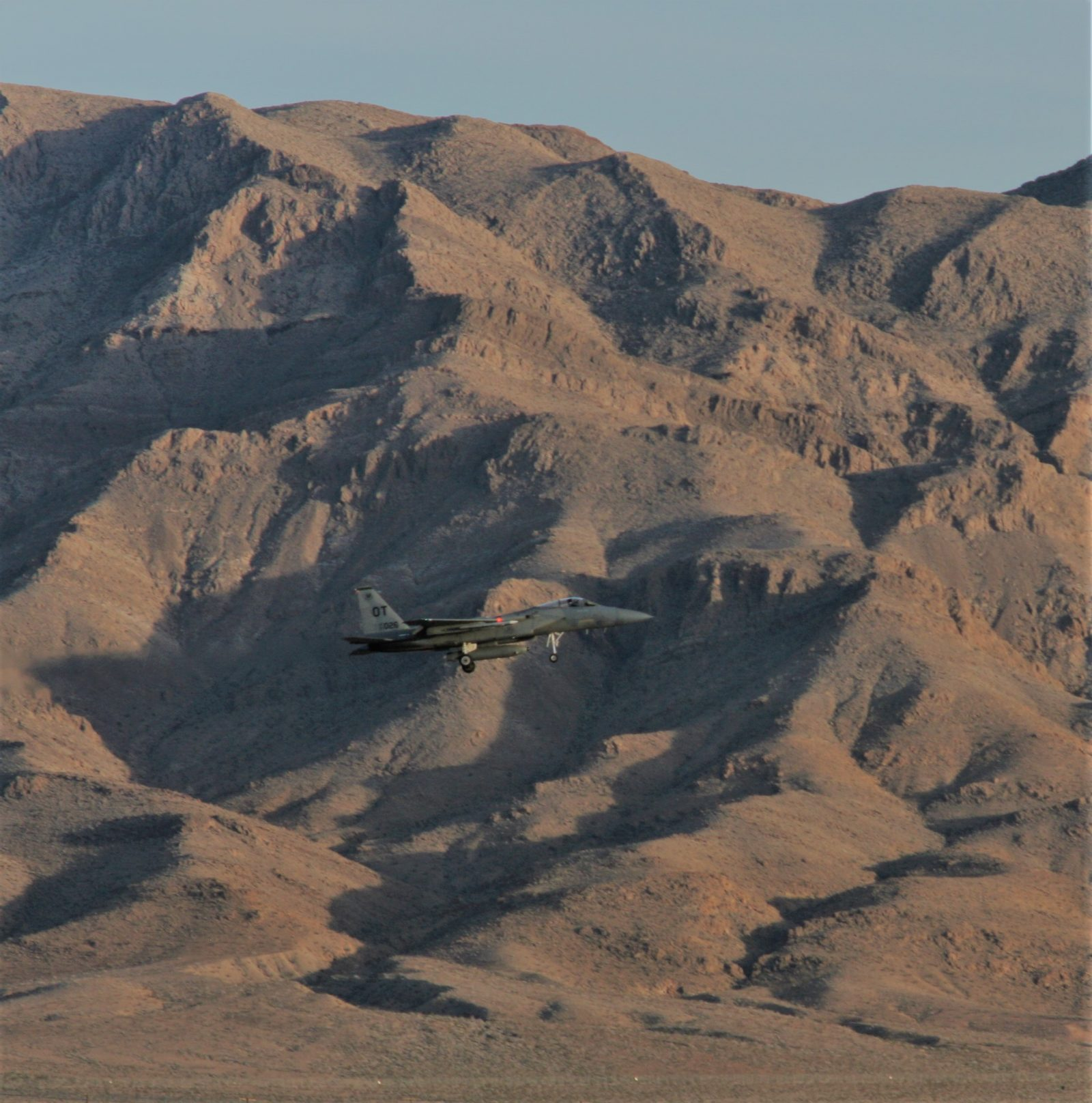 Nellis AFB view