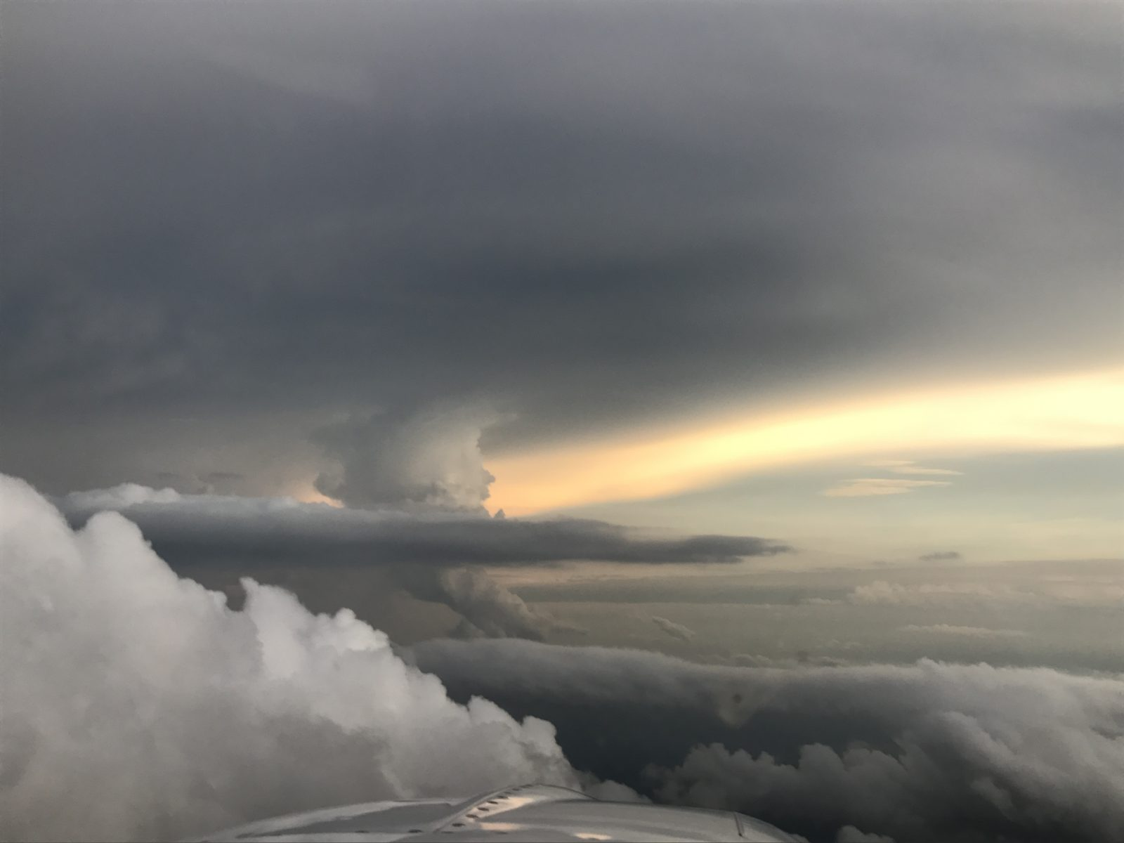 Southeast Cloud view after the storm