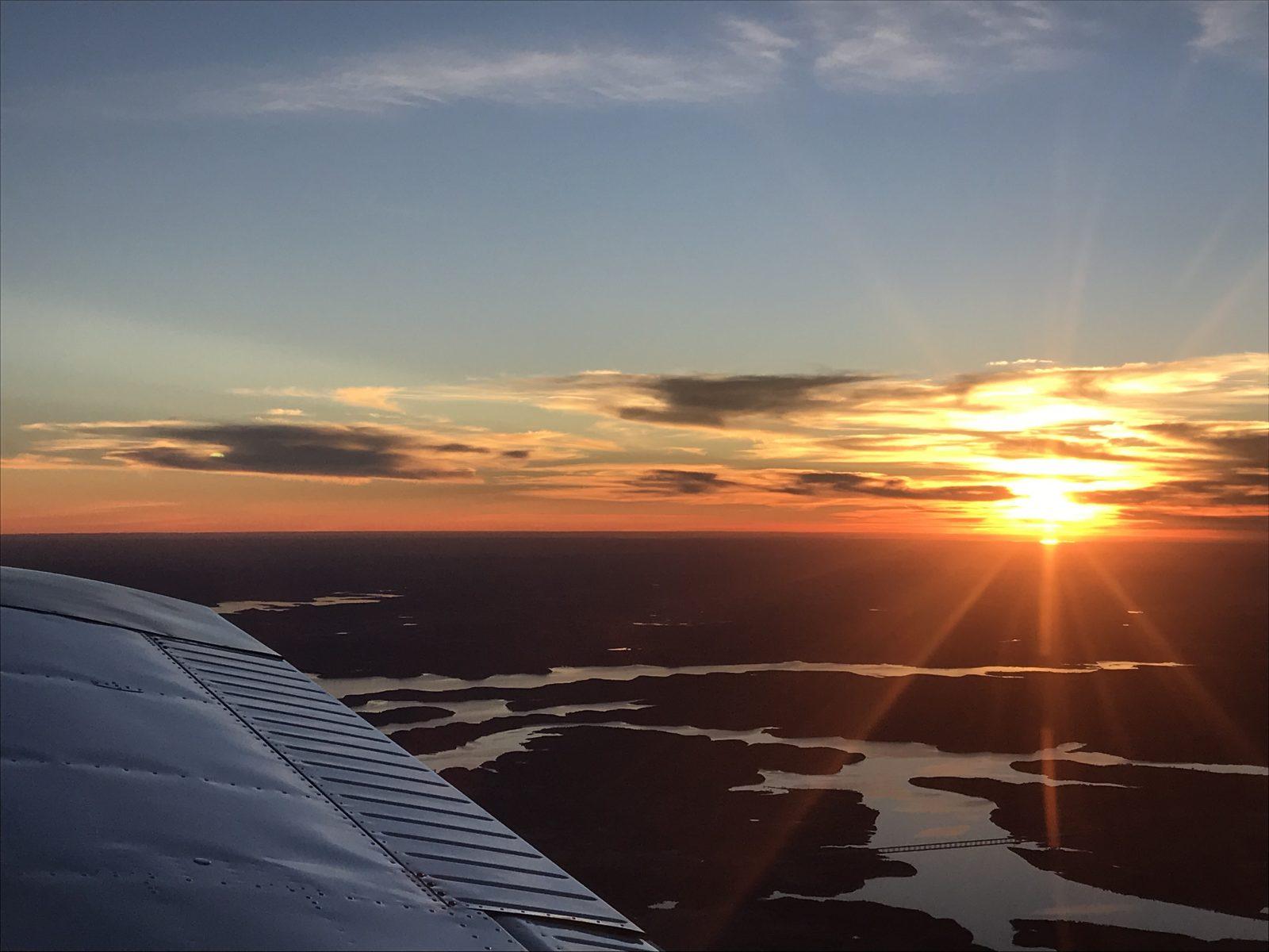 Evening Sunset Glory