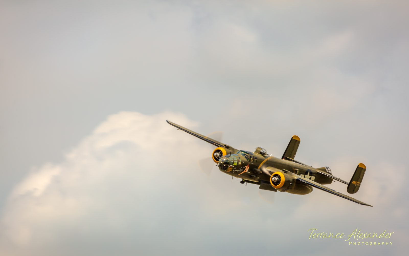 "B-25D Mitchell Bomber ""Georgie's Gal"""