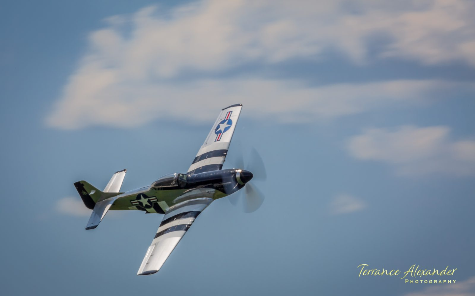 """P51 Mustang """"Quick Silver"""""""