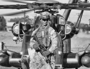 A Man and His Helo