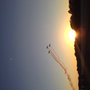 Sunset at Spruce Creek Fly-In